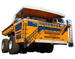 belaz rigid dump trucks