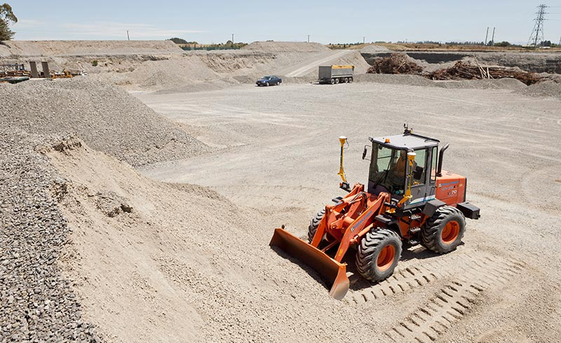 In material placement and grading applications, productivity can be increased by as much as 40%.