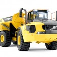 Volvo's biggest articulated hauler: pure uptime with the A60H