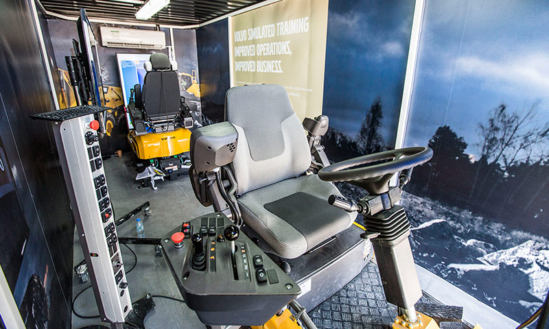volvo construction equipment simulators