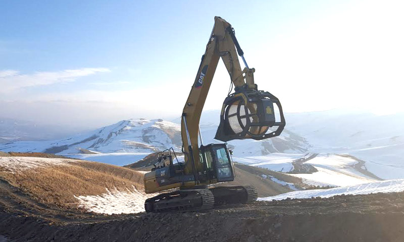 MB Crusher screens for Caucasus Pipeline Project
