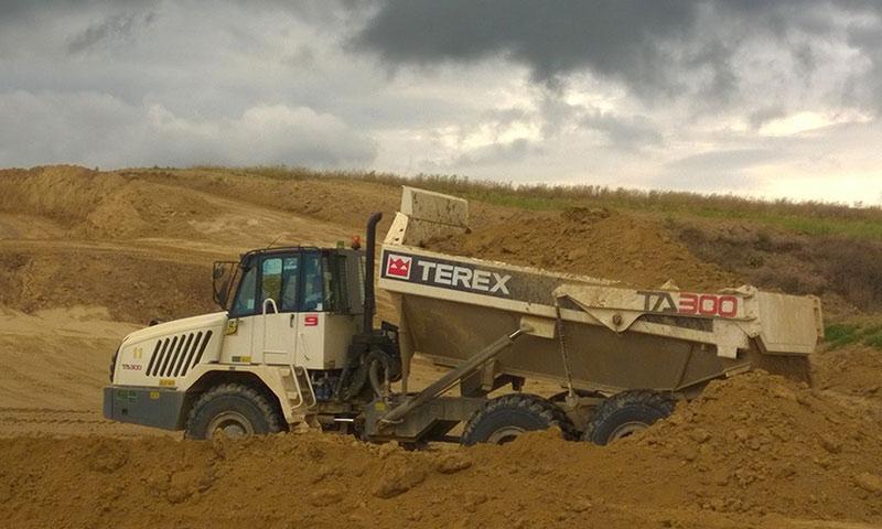 Road contractor opts for Terex Trucks