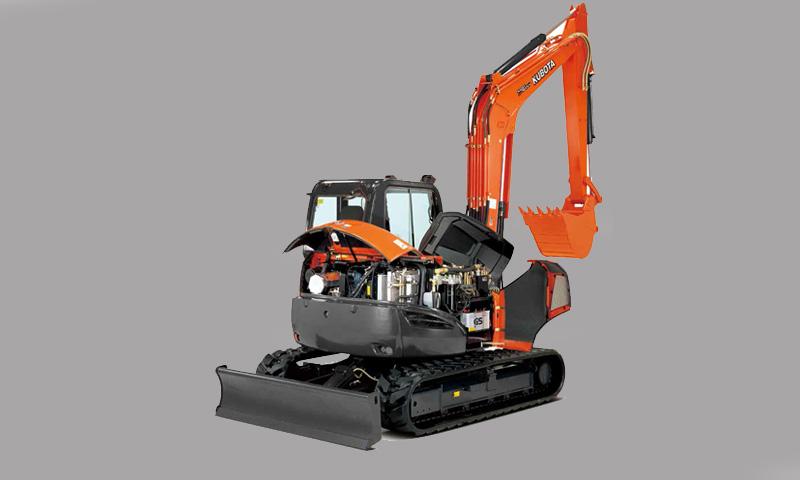 Smith Power Equipment launces Kubota's new 8 t excavator in