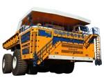 belaz rigid dump trucks