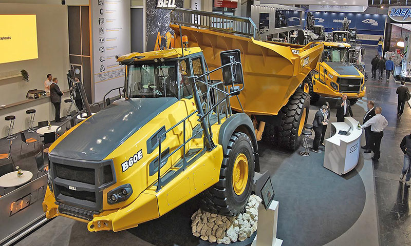 Bell Equipment S B60e Articulated Dump Truck Receives