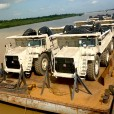 A total of 29 Terex Trucks have arrived at the jade mines of Myanmar.