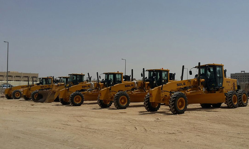 SDLG rolls out strong 58-machine order